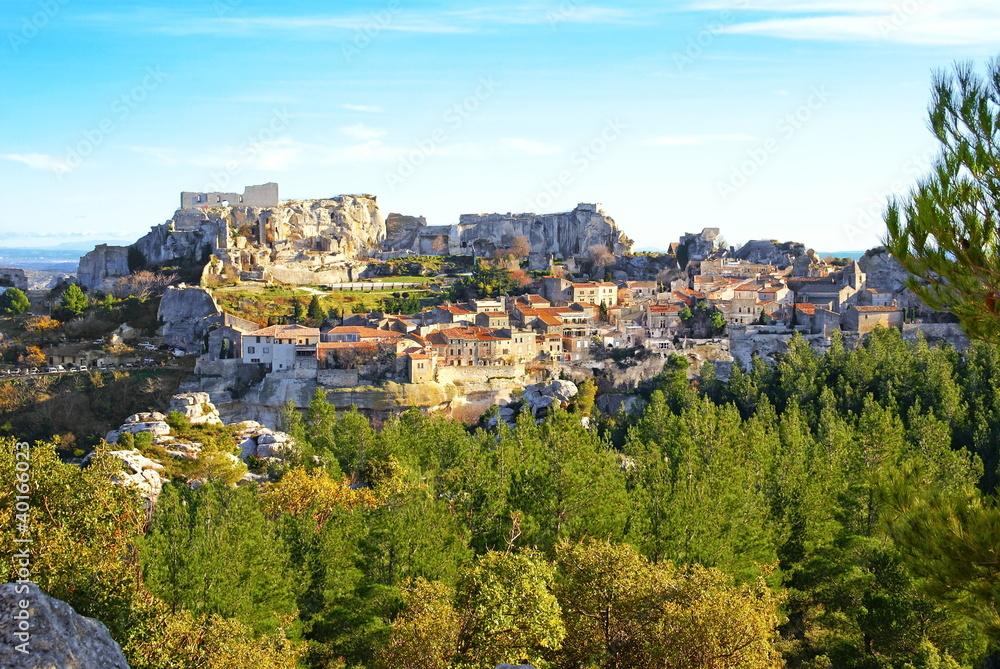 Fototapety, obrazy: Village des Baux de Provence