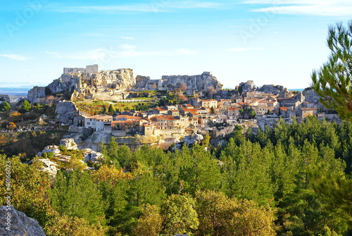 Village des Baux de Provence Poster
