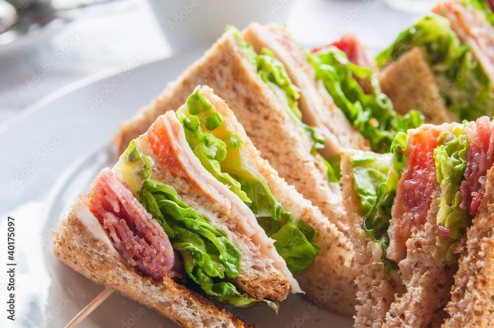 Fototapety, obrazy: Sandwich