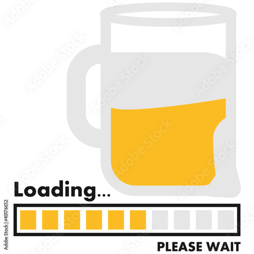 loading_beer Poster