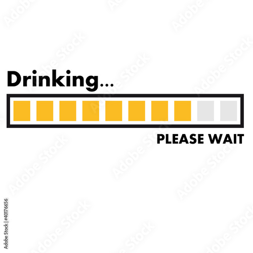drinking_please_wait Poster