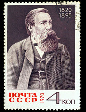 USSR - CIRCA 1970: A Stamp Printed In USSR, Shows Portrait Fried