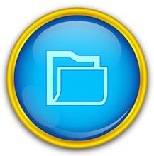 Mavi Altın çerçeveli Dosya ...