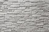 Fototapeta Kamienie - The gray modern stone wall