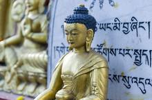 Buddha Monument At Swayambhunath Temple.