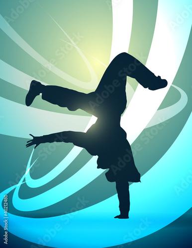sylwetka-breakdance-wektor