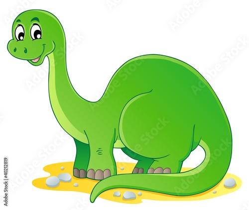 Tuinposter Dinosaurs Dinosaur theme image 1