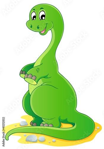 Tuinposter Dinosaurs Dinosaur theme image 2