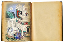 Old Book With Illustration