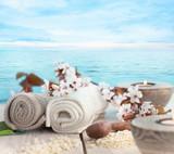 Natural spa setting