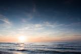 Fototapeta Fototapety z morzem do Twojej sypialni - Morze zachód słońca