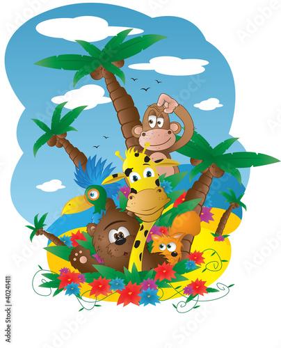 Wyspa zwierzątek - 40241411