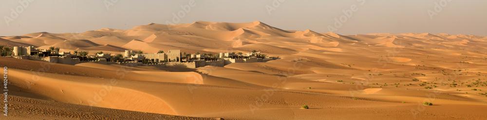 Fototapeta Abu Dhabi's desert dunes