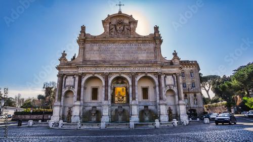 Fotografie, Obraz  Fontana dell' Acqua Paola, Rome