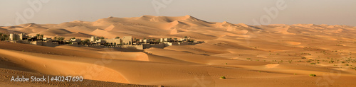 Photo Abu Dhabi's desert dunes
