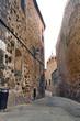 Calle de la ciudad antigua de Cáceres, España