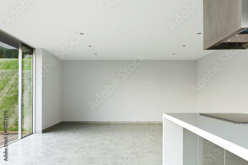 Fototapety, obrazy: beautiful modern house, view of kitchen
