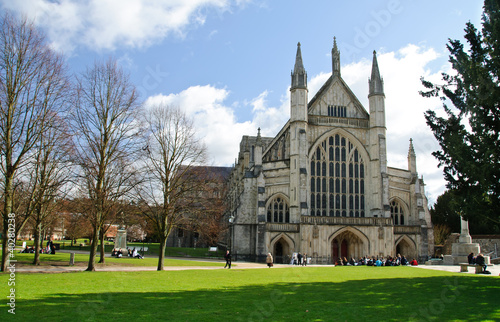 Winchester cathedral in UK Wallpaper Mural