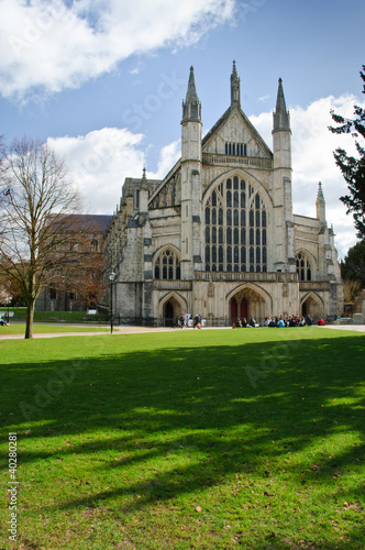Photo Winchester cathedral, UK