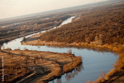 Dekoracja na wymiar widok-z-lotu-ptaka-odry-rzeki