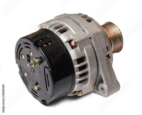 Photo automotive alternator