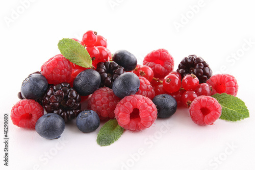 Keuken foto achterwand Vruchten assortment of berries