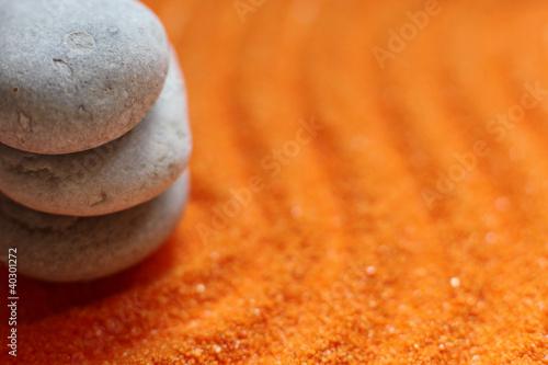 Photo sur Plexiglas Zen pierres a sable galets en équilibre bien-être méditation
