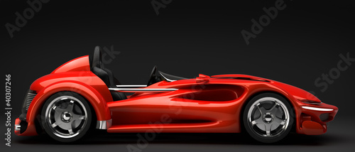 Plakaty samochody nowoczesne   samochod-sportowy-3d
