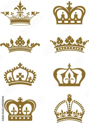 Fotografie, Obraz  Crowns