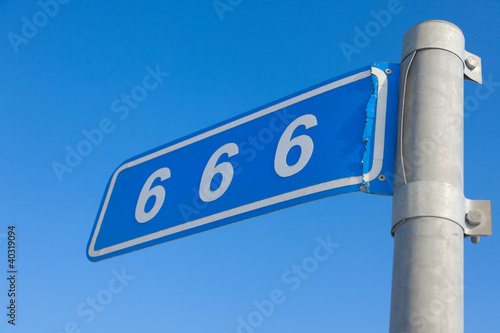666 mile Poster