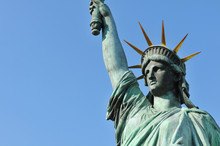 Architectural Detail Of The Statue Of Liberty