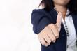 women hand business