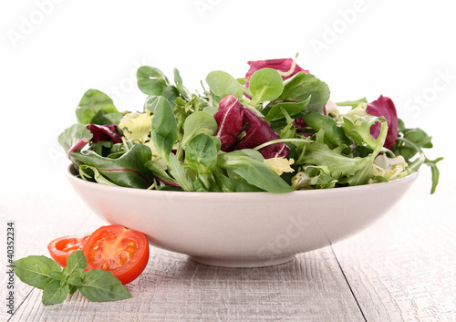 Fotografie, Obraz  fresh salad