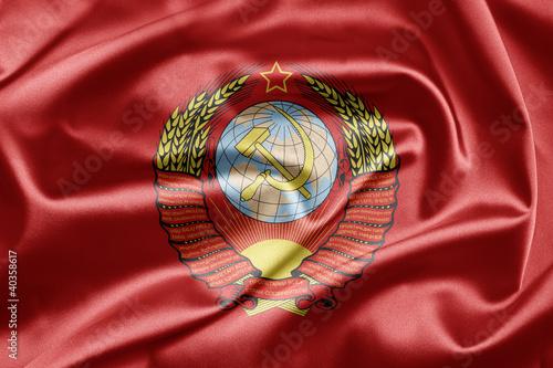 Valokuva  USSR flag
