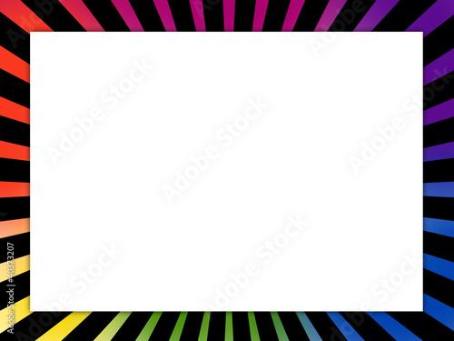 cadre photo coloré Canvas-taulu