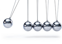 Newtons Cradle With Five Balls