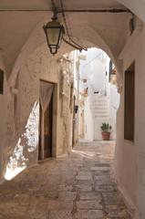 Fototapeta uliczka w Apulii Włochy