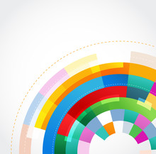 Colorful Abstract Template