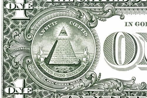Fotografia, Obraz  Dollar pyramid