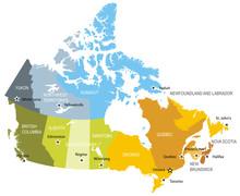 Map Of Provinces And Territori...