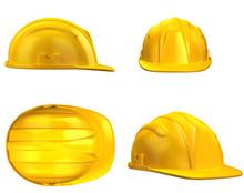 Construction Helmet From Diffe...