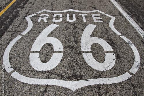Fotobehang Route 66 Route 66