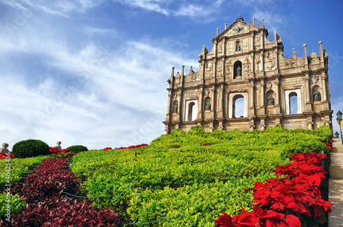 Poster Ruine Saint Paul's Ruins in Macau