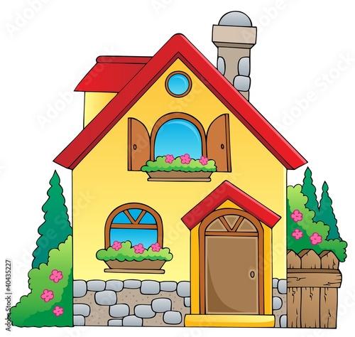 Fotobehang Indiërs House theme image 1