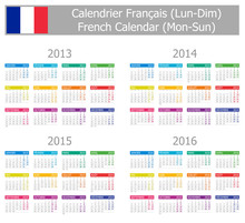 2013-2016 Type-1 French Calend...