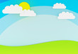 Blue sky paper