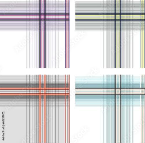 Photo  fabric plaid check pattern
