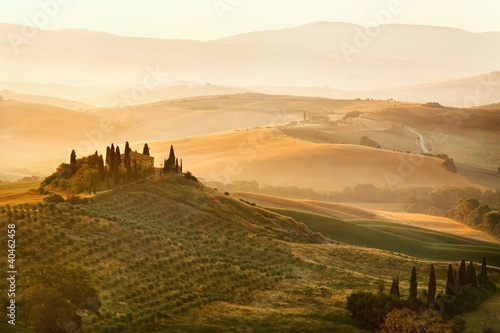 In de dag Toscane Belvedere of Tuscany
