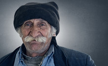 Old Traditional Lebanese Man W...
