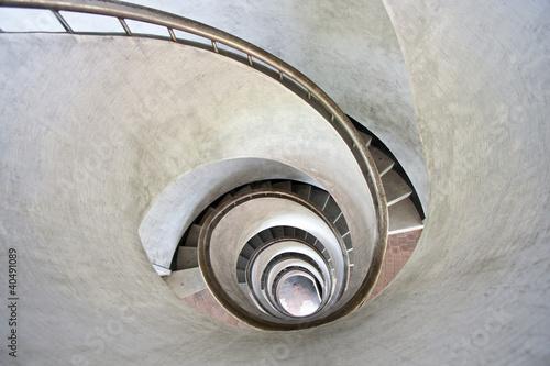 Foto op Plexiglas Trappen spiral stairs